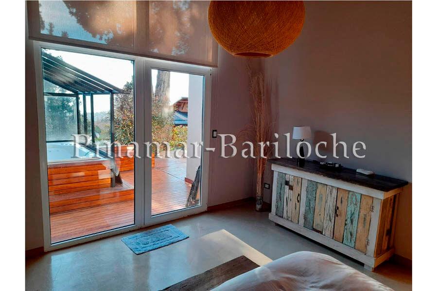 casa en alquiler con vista al lago bariloche