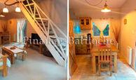 cabaña en alquiler en carilo para 6 personas cerca del centro y playa