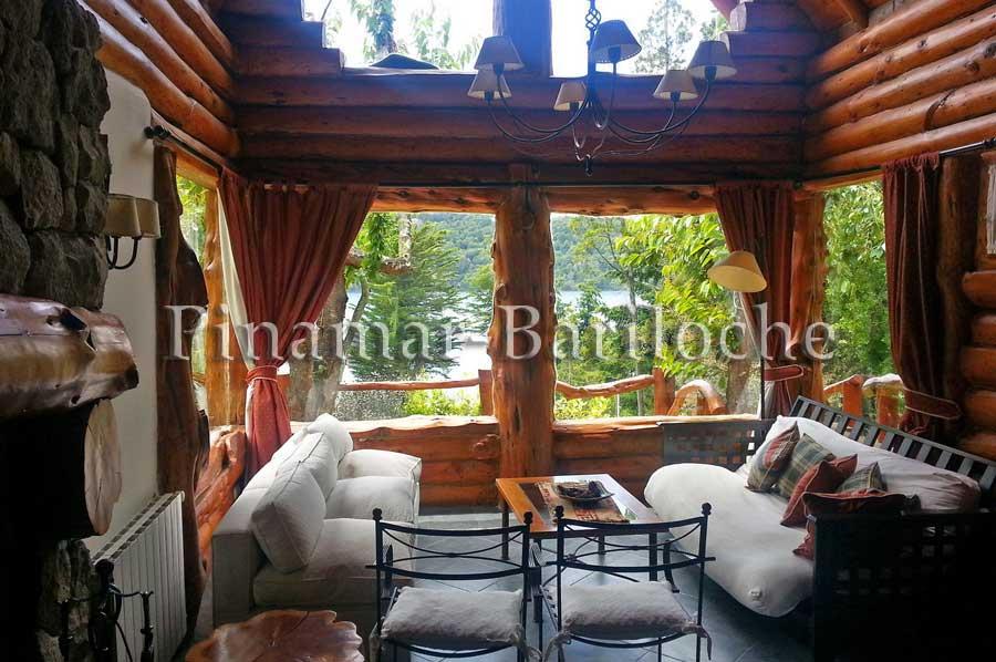 Cabaña En Alquiler En Bariloche B Cerrado Costa De Lago 971