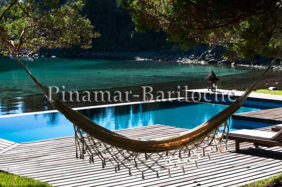 Casa De Categoría Con Pileta, Muelle Y Costa En Bariloche 687