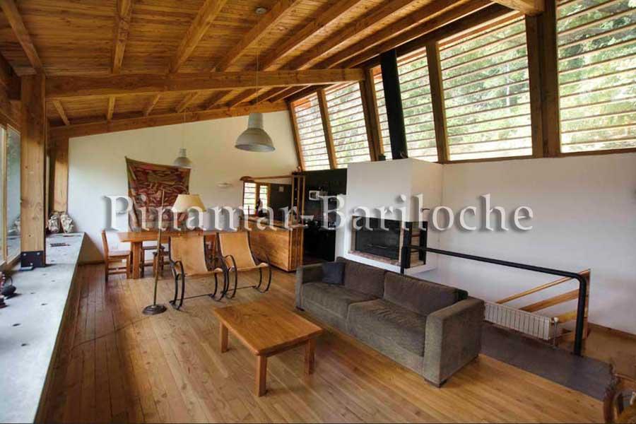 Alquiler Casa Con Costa De Lago Bariloche – 861
