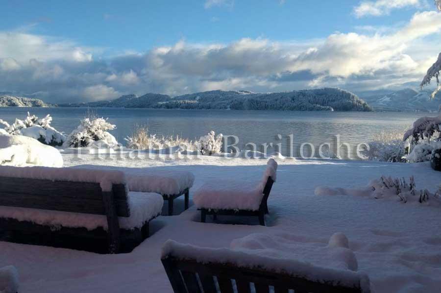 Bariloche Casa En Alquiler, Con Costa De Lago Y Playa – 1016