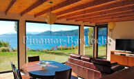 alquiler casa con costa de lago en bariloche para 12 personas zona llao llao